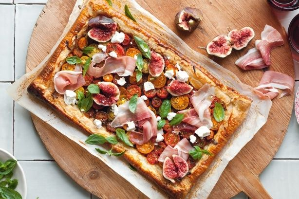 Fig, Tomato And Prosciutto Tart by Taste.Com.Au. This fast and fresh ...