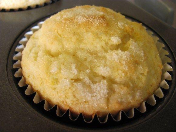 Giada's lemon ricotta muffins! | Desserts | Pinterest