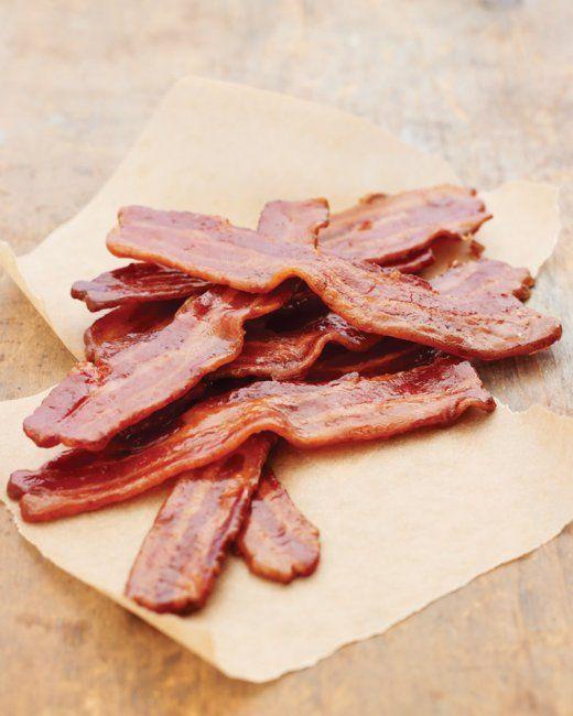 Martha Stewart's Maple-Candied Bacon recipe