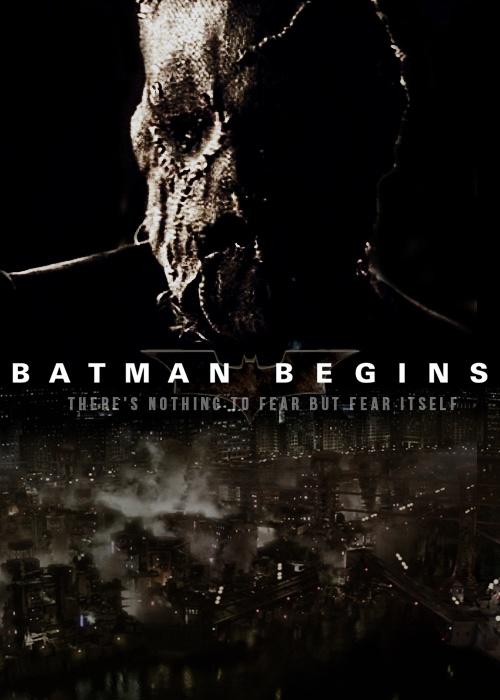 Scarecrow Batman Begin...