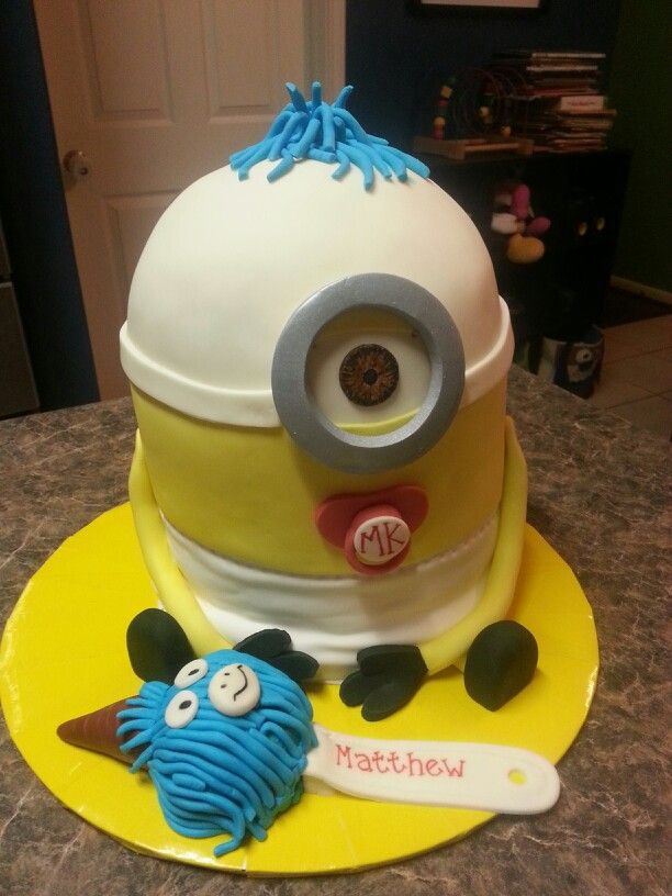 baby minion baby shower cake baby showers pinterest