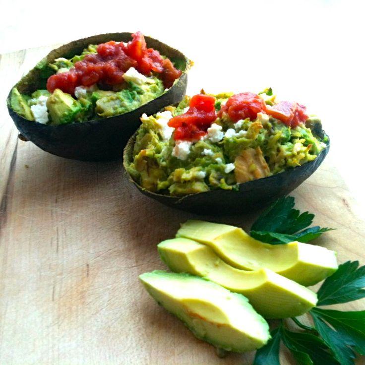 Tuna Stuffed Avocados | BBM | Pinterest