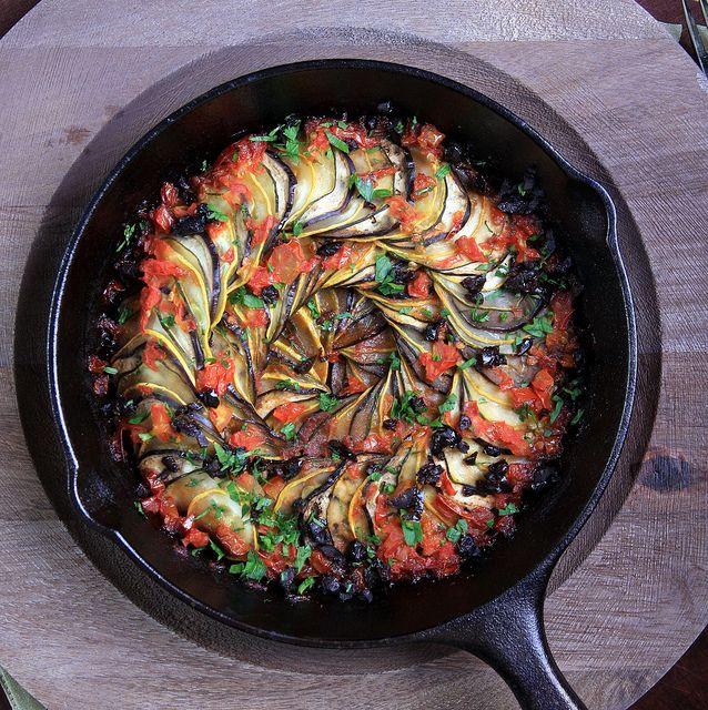 ... ) by olivesfordinner #Ratatouille #Squash #Zucchini #Eggplant #Tomato