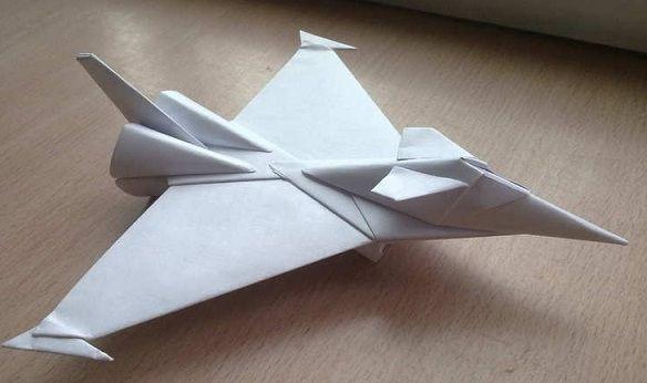 Как сделать самый крутой истребитель из бумаги а4