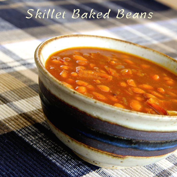 More like this: baked beans , skillets and beans .