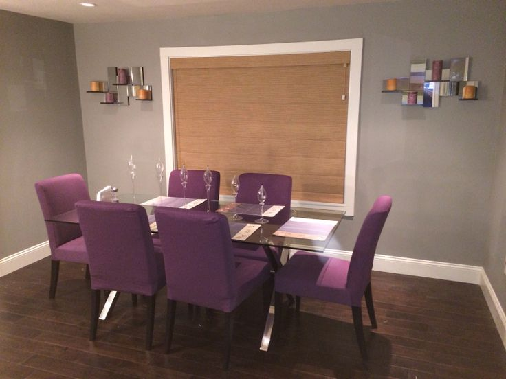 Purple ikea dining chairs dining room pinterest - Purple dining chairs ikea ...