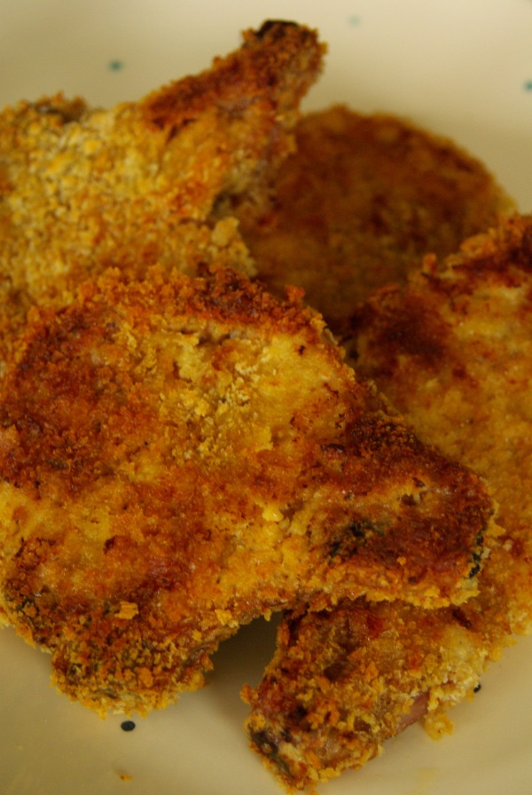 Baked Breaded Pork Chops « No Fuss Foods I personaly would dial down ...