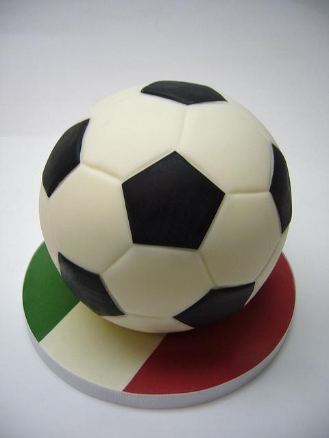 Images Of Soccer Ball Cake : Soccer ball cake 3D Ball cakes Pinterest