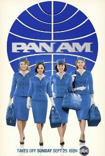 Pan Am, 2011 - Mike Vogel, Christina Ricci and Margot Robbie. Set in the 1960's and followed the lives of pilots and flight attendants who once made Pan Am the most glam way to fly. Cancelled weeks after the season finale.