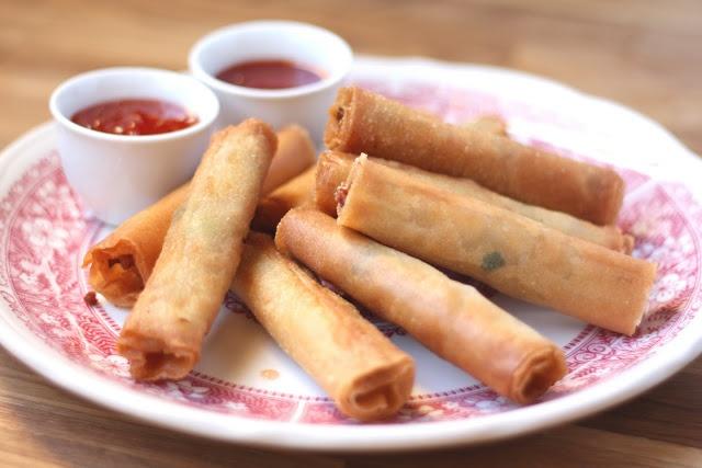 Lumpia - these are so, so good! Filipino egg rolls