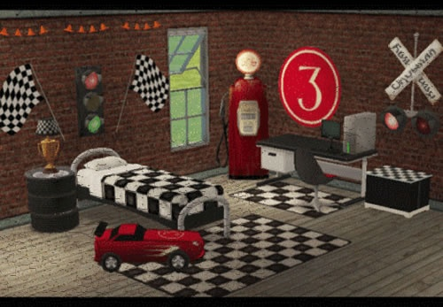 Race Car Themed Bedroom For Your Son For JW Pinterest
