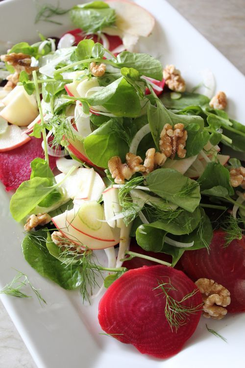 Beet, apple & fennel salad | Food & Drink