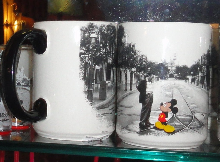 Walt and Mickey on Main Street.  $14.44