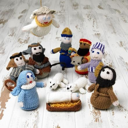 Knitted Nativity Scene - Project - The Spotlight Inspiration Room ...