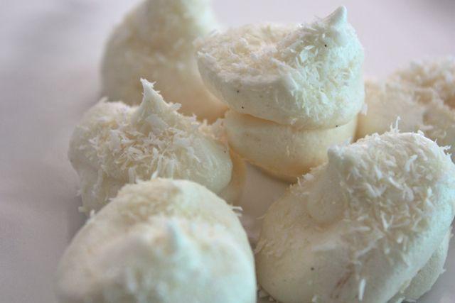 SCD Coconut Vanilla meringue cookies | Favorite Foods | Pinterest