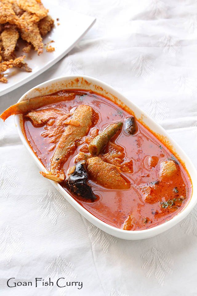 Goan Fish Curry - Mandeli Curry (if I can ever find fresh anchovies.)