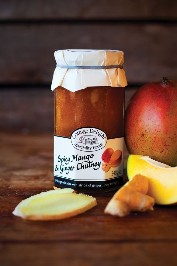 this fruity chutney, made with 38% mango. Spicy Mango & Ginger Chutney ...