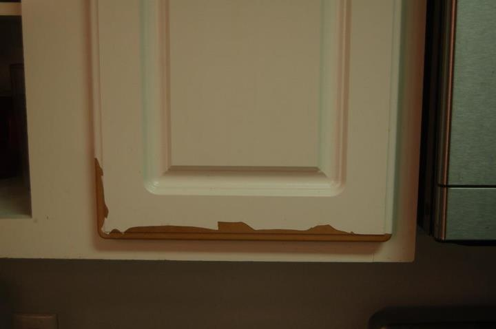 Im painting thermofoil cabinets gbcn for the home for Thermofoil cabinets