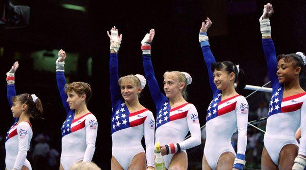meet team usa gymnastics 1996