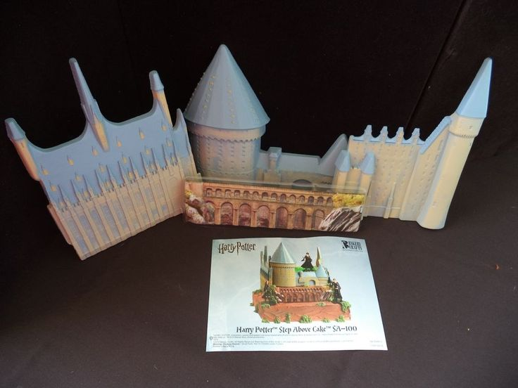 Harry Potter Cake Decorating Kit Topper : Harry Potter Step Above Cake Topper Set, Bakery Craft ...
