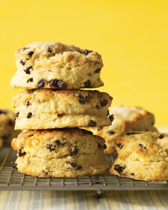Cream Scones With Currants Recipe — Dishmaps