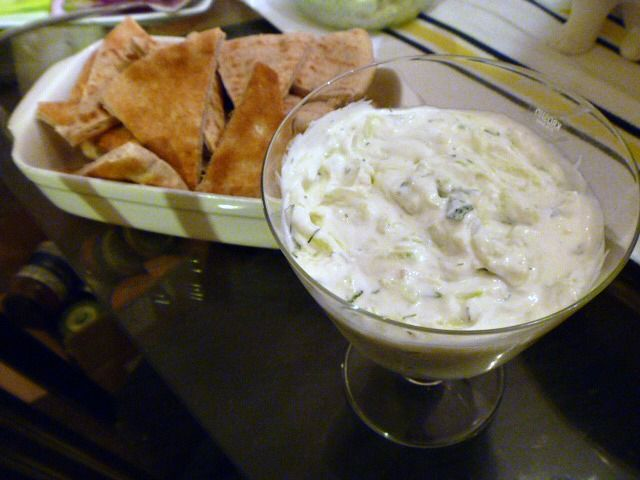 Slice of Southern: Tzatziki - Yogurt Dip with Garlic, Mint, and Dill