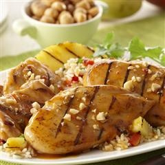 Macadamia Nut Chicken Breasts With Tropical Marmalade Recipes ...