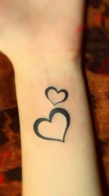 Small simple heart tattoo designs driverlayer search engine for Small heart tattoos