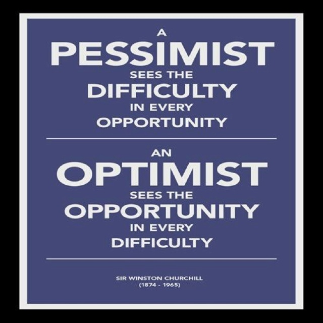 optimism vs pessimism essay This article outlines the difference between optimism and pessimism, how optimism can be learned and what the dark side of optimism is.