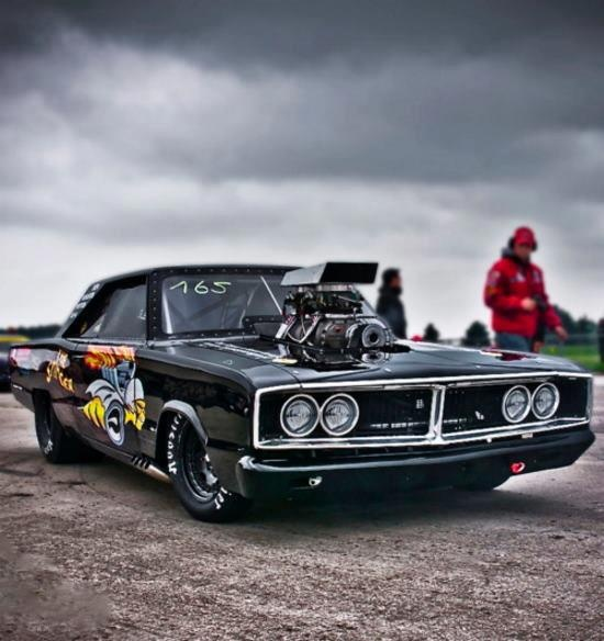 Supercharged 1969 Dodge Charger | Cars | Pinterest