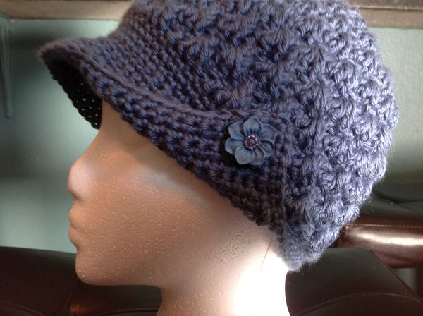 Crocheting Hats For Cancer Patients : Chemo hats