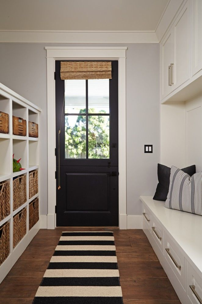 Back Door Mud Room Hall Pinterest