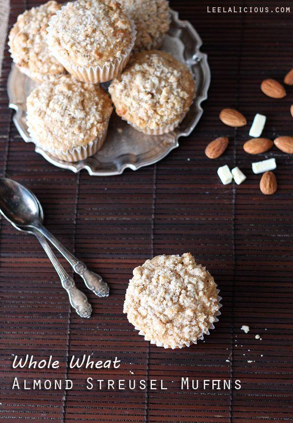 Whole Wheat Almond Streusel Muffins | Recipe