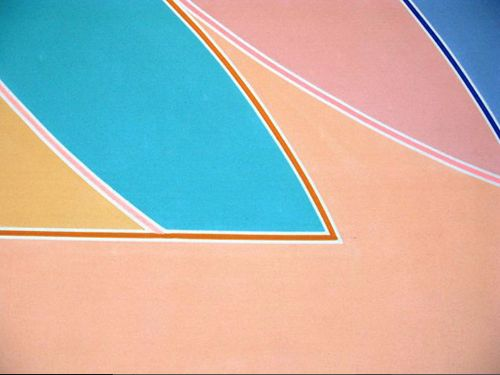 americanapparel:  York Factory A, 1972 by Frank Stella at the...