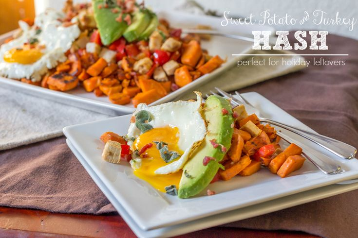 Sweet Potato & Turkey Hash {Perfect for Holiday Leftovers ...