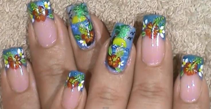 nail design summer