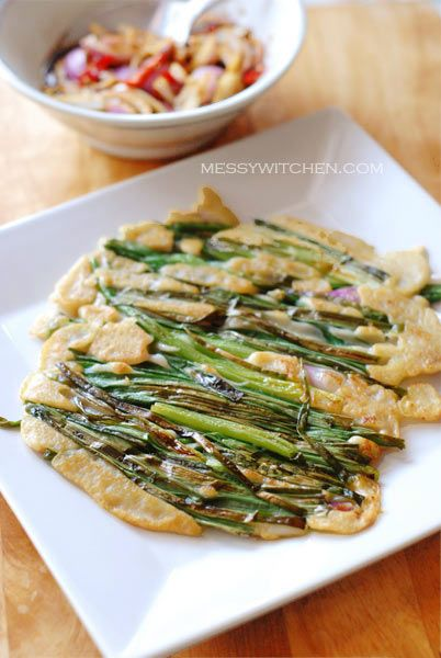 Pajeon – Korean Spring Onions Pancake | Taste of the Orient ...