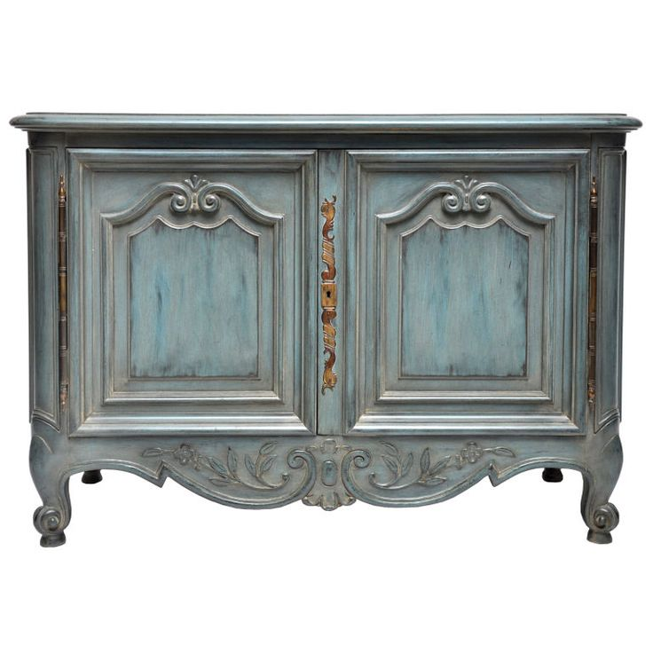 french louis xv painted buffet