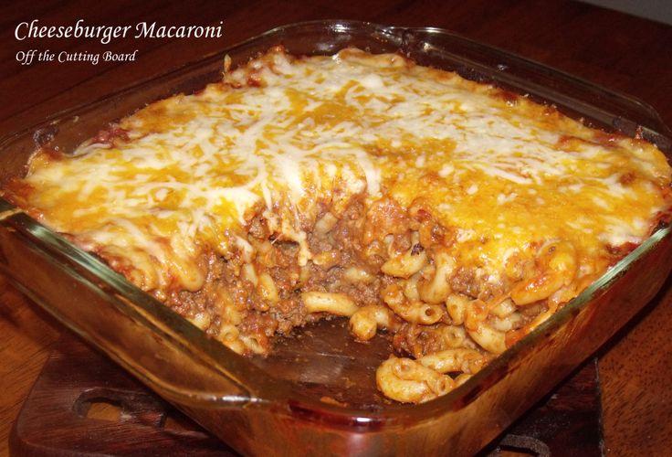 Cheeseburger Macaroni Casserole | Recipes - Casseroles | Pinterest