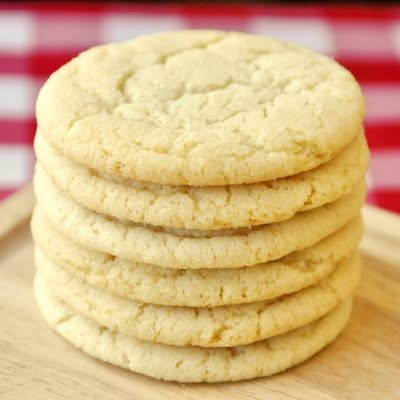 lemon sugar cookies. not only was the cookie good, but I was obsessed ...