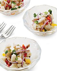Red Snapper Ceviche Recipe from Food & Wine