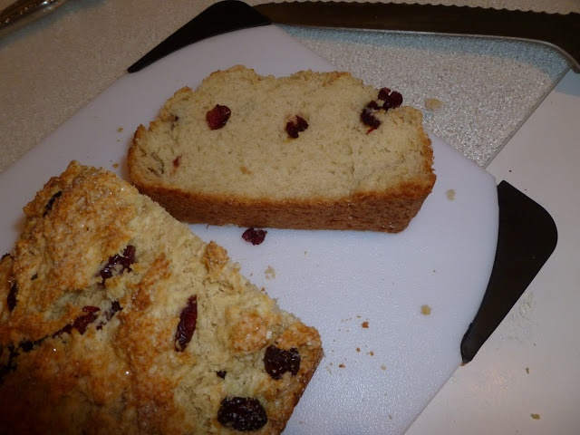 ... Like to Bake and Cook!: Irish Soda Bread! with dried cranberries