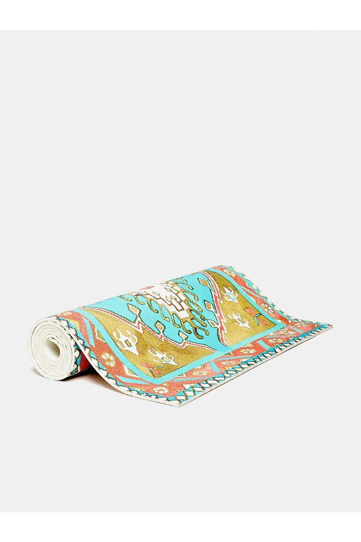 Magic Carpet Yoga Mats Turquoise Traditional Mat