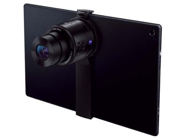 sony tablet attachment qxqx lens style cameras