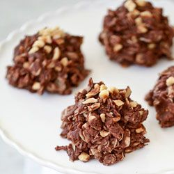 Nutella Oatmeal No Bake Cookies | Food | Pinterest