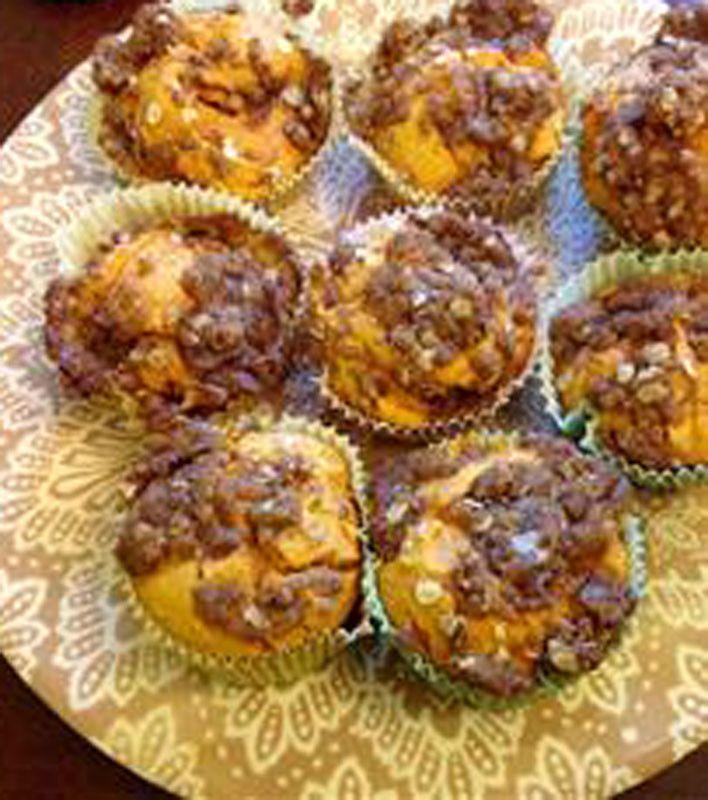 Easy Pumpkin Muffins - 18 1/4 ozs cake mix (yellow), 15 ozs pumpkin ...