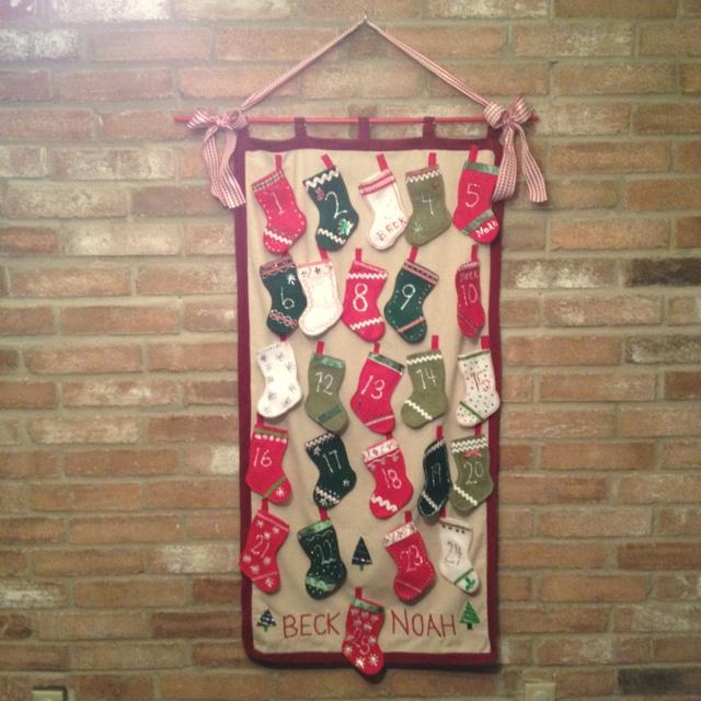 Advent Calendar | Craft Ideas | Pinterest