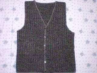 Free Crochet Pattern Mens Vest : free crochet vest patterns Crochet Instructions for ...