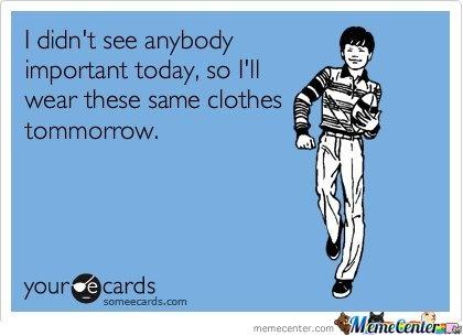 same clothes
