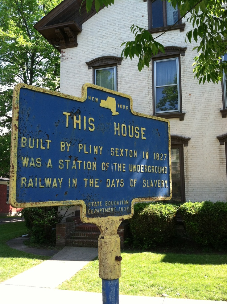 The gallery for --> Underground Railroad Safe Houses Signs